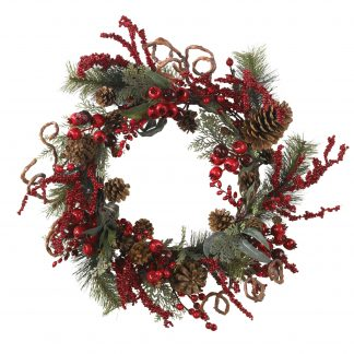 Mixed Berry Wreath