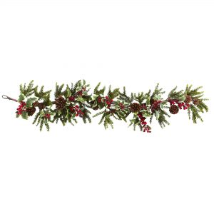 Festive Holly Berry Garland